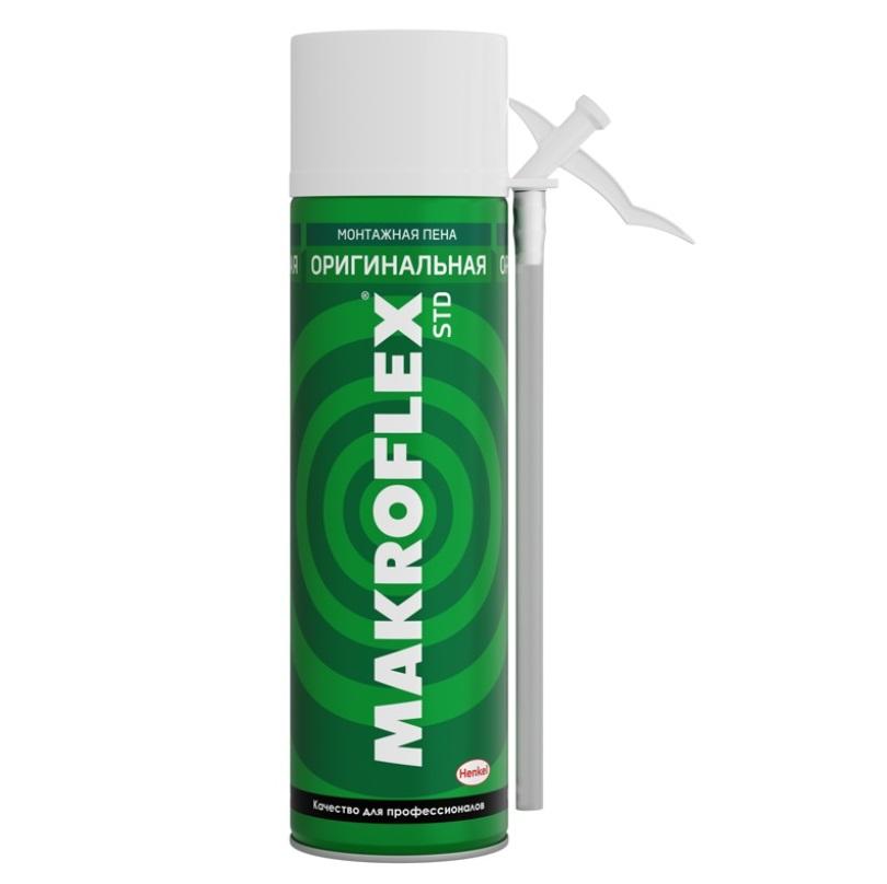 пена монтажная бытовая makroflex shaketec std стандарт 500 мл Пена бытовая Makroflex оригинальная 500 мл