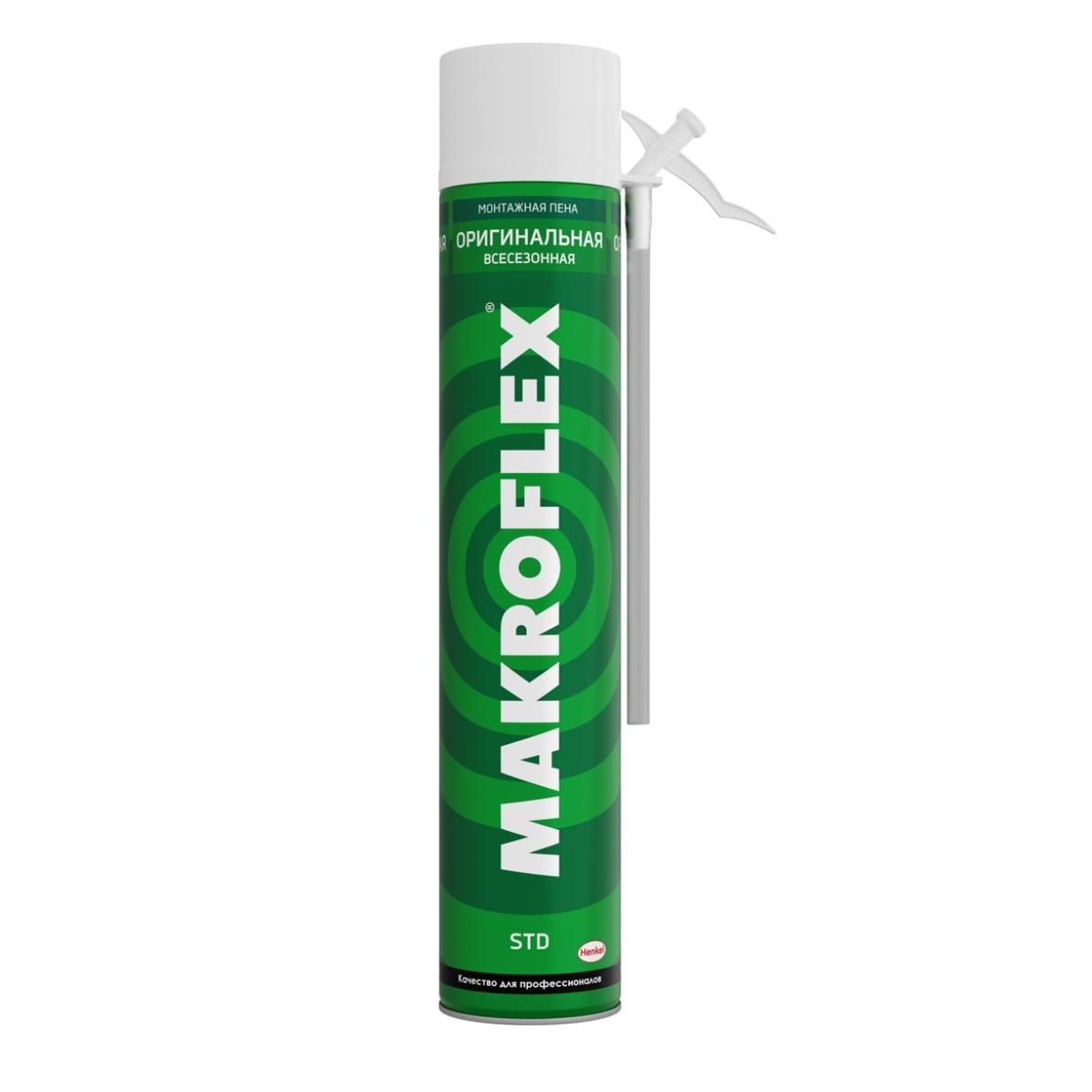 пена монтажная бытовая makroflex shaketec std стандарт 500 мл Пена бытовая Makroflex оригинальная всесезонная 750 мл