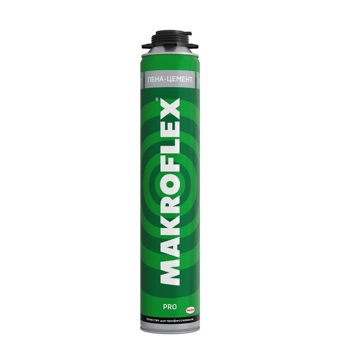 Пена профессиональная Makroflex pro пена-цемент 850 мл