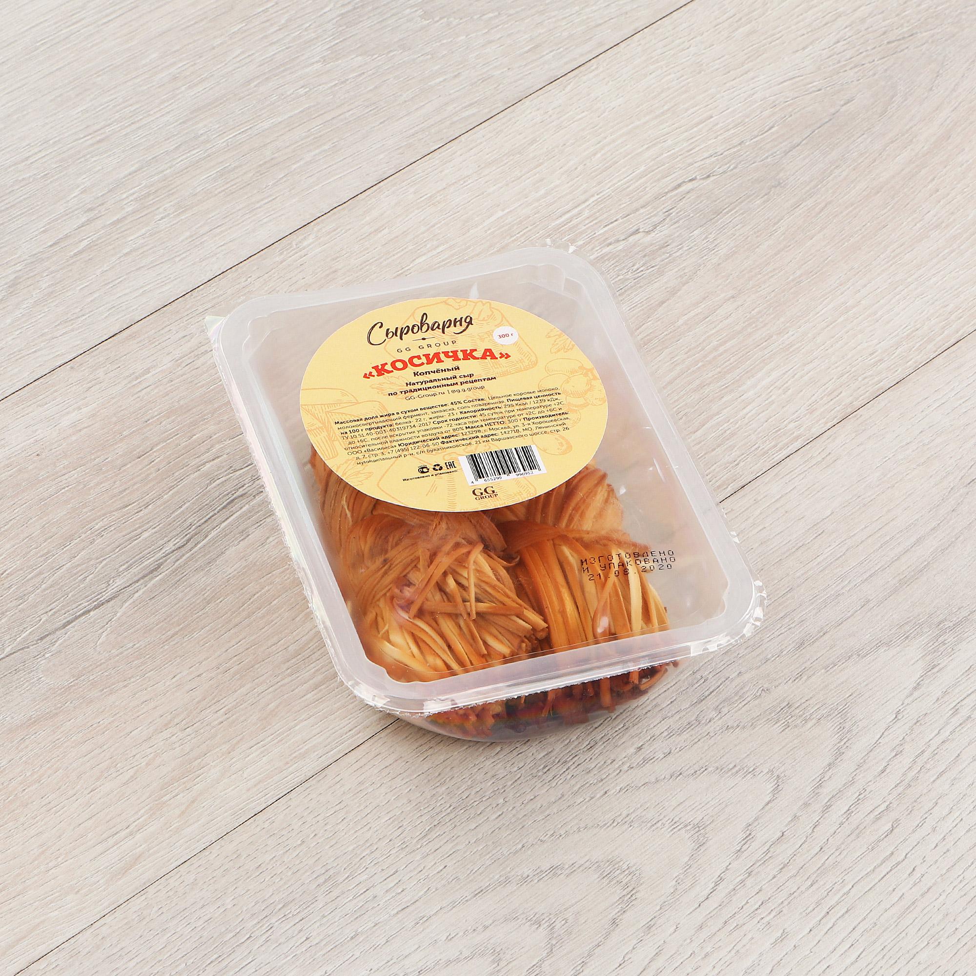 Сыр Косичка копченый 350 г
