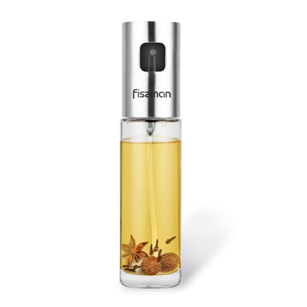Бутылочка для масла или уксуса Fissman 100 мл fissman бутылочка для масла или уксуса 150 мл прозрачный серебристый белый