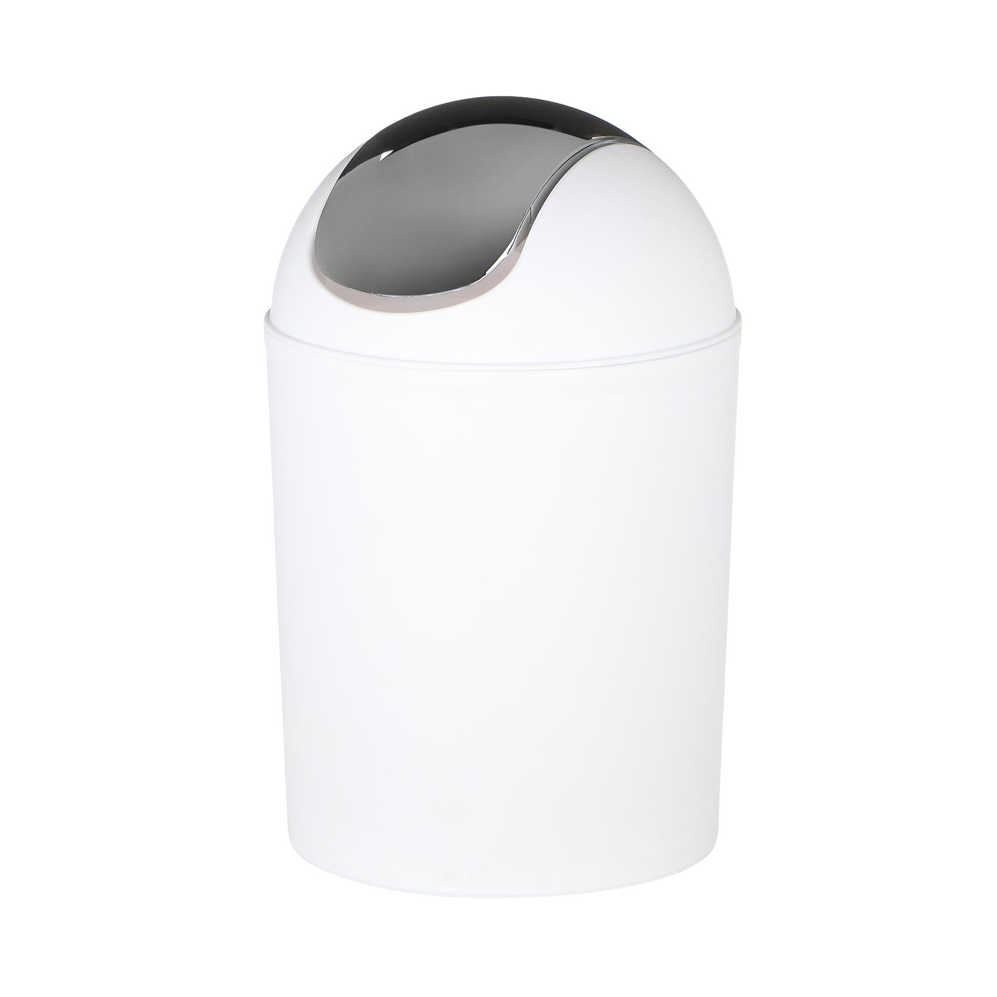 Ведро мусорное Wenko sanitary vercelli хром 32см