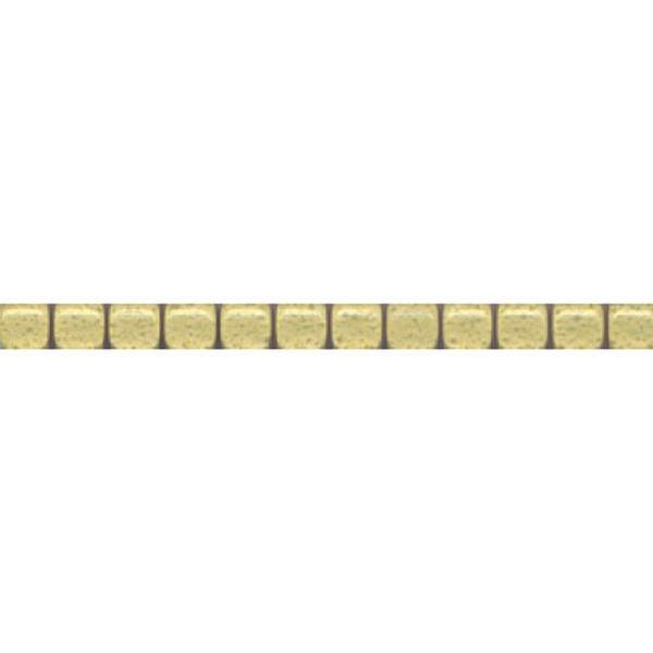 Бордюр Kerama Marazzi Карандаш Бисер желтый 20x1,4 см POF005