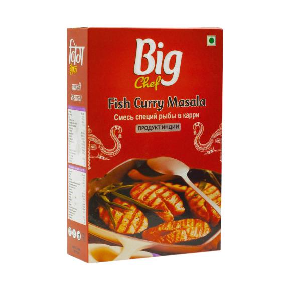 Смесь специй Big Chef Fish Curry Masala 100 г фото