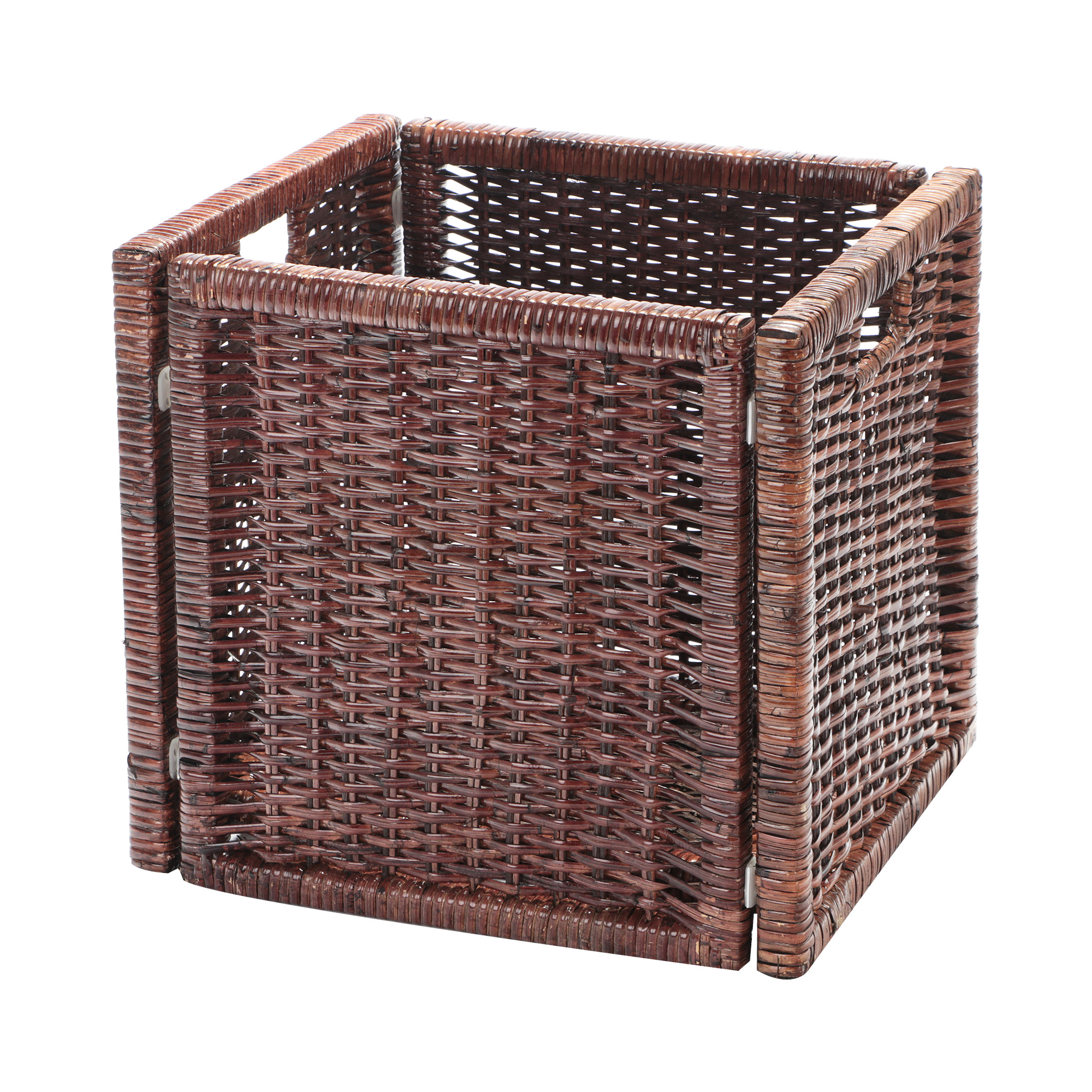 Корзина декоративная Rattan grand amsterdam md brown