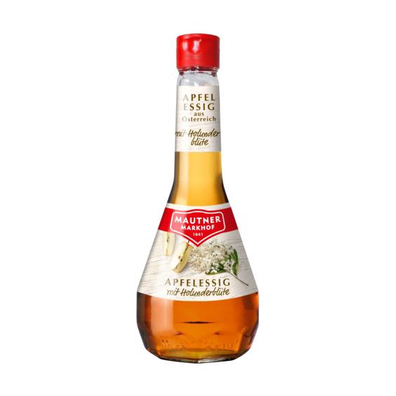 Уксус Mautner Markhof яблочный с цветком бузины 5% 500 мл уксус яблочный абрико 6% 500 мл