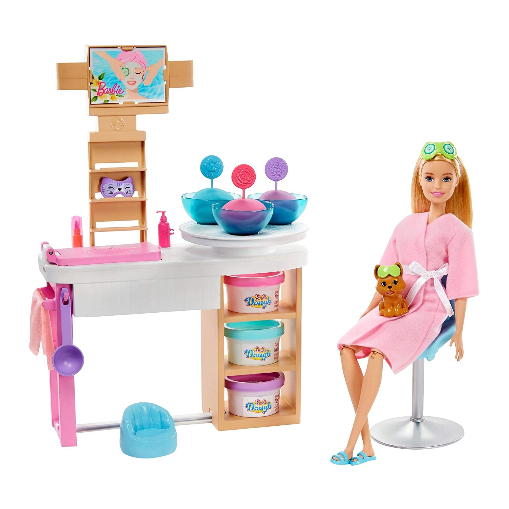 Фото - Набор игровой Barbie Оздоровительный Спа-центр набор игровой barbie оздоровительный спа центр gjr84