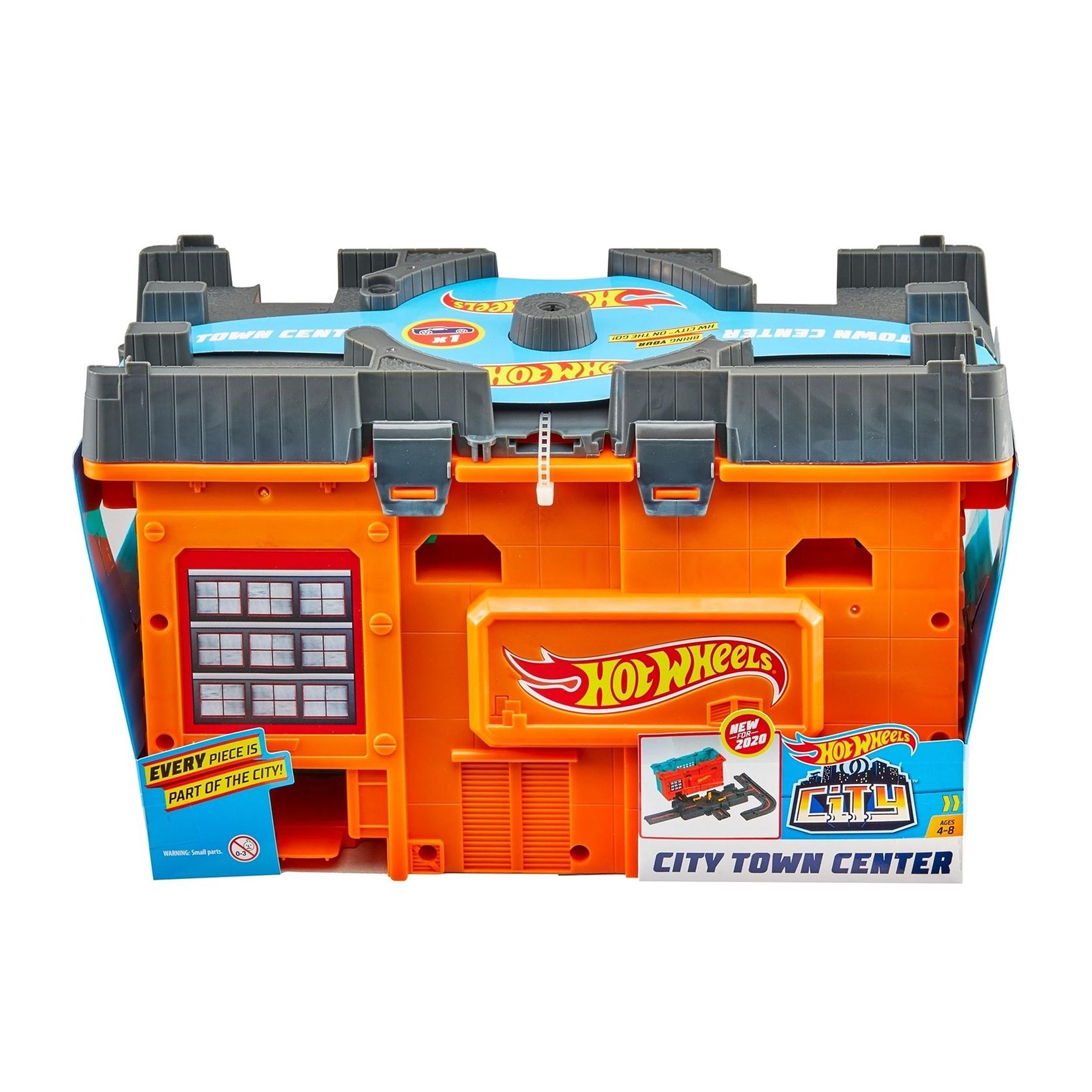 Набор игровой Hot Wheels Сити Центральная станция машины mattel hot wheels сити игровой набор шиномонтажная мастерская