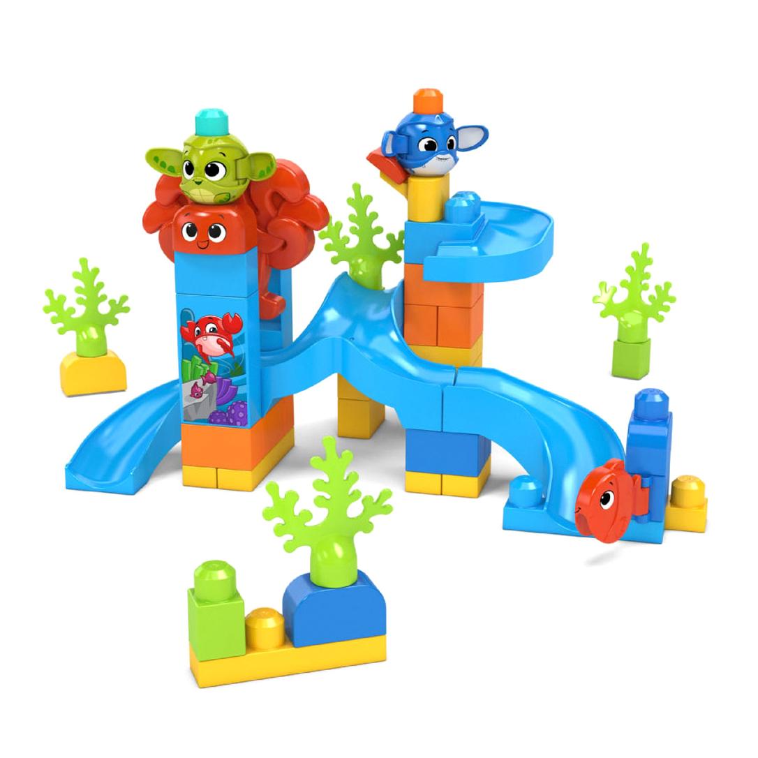 Конструктор Mega Bloks Подводное приключение mattel конструктор mega bloks любимый щенок 15 деталей