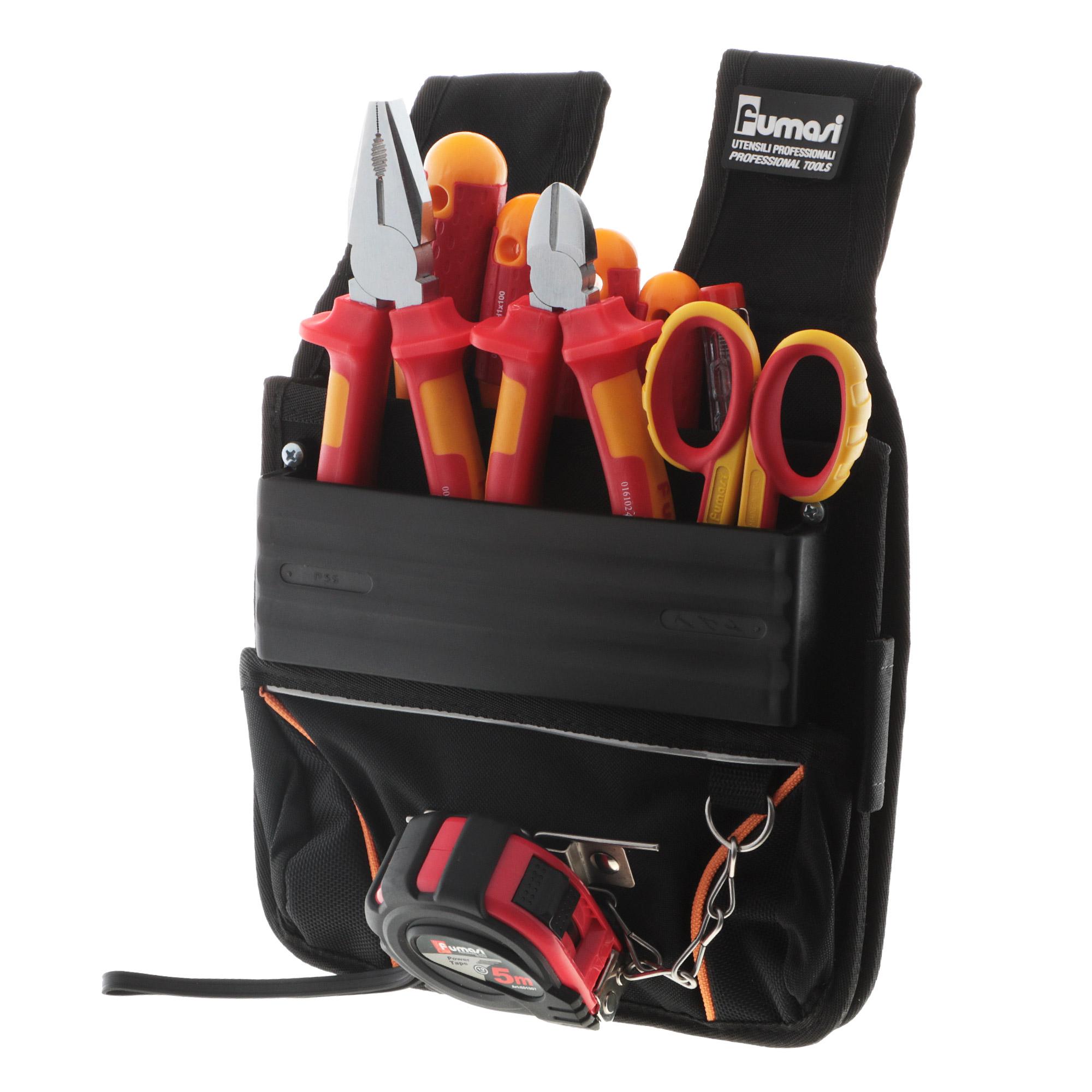 Набор инструментов Fumasi ящик пластиковый для инструментов fumasi 30х12х14