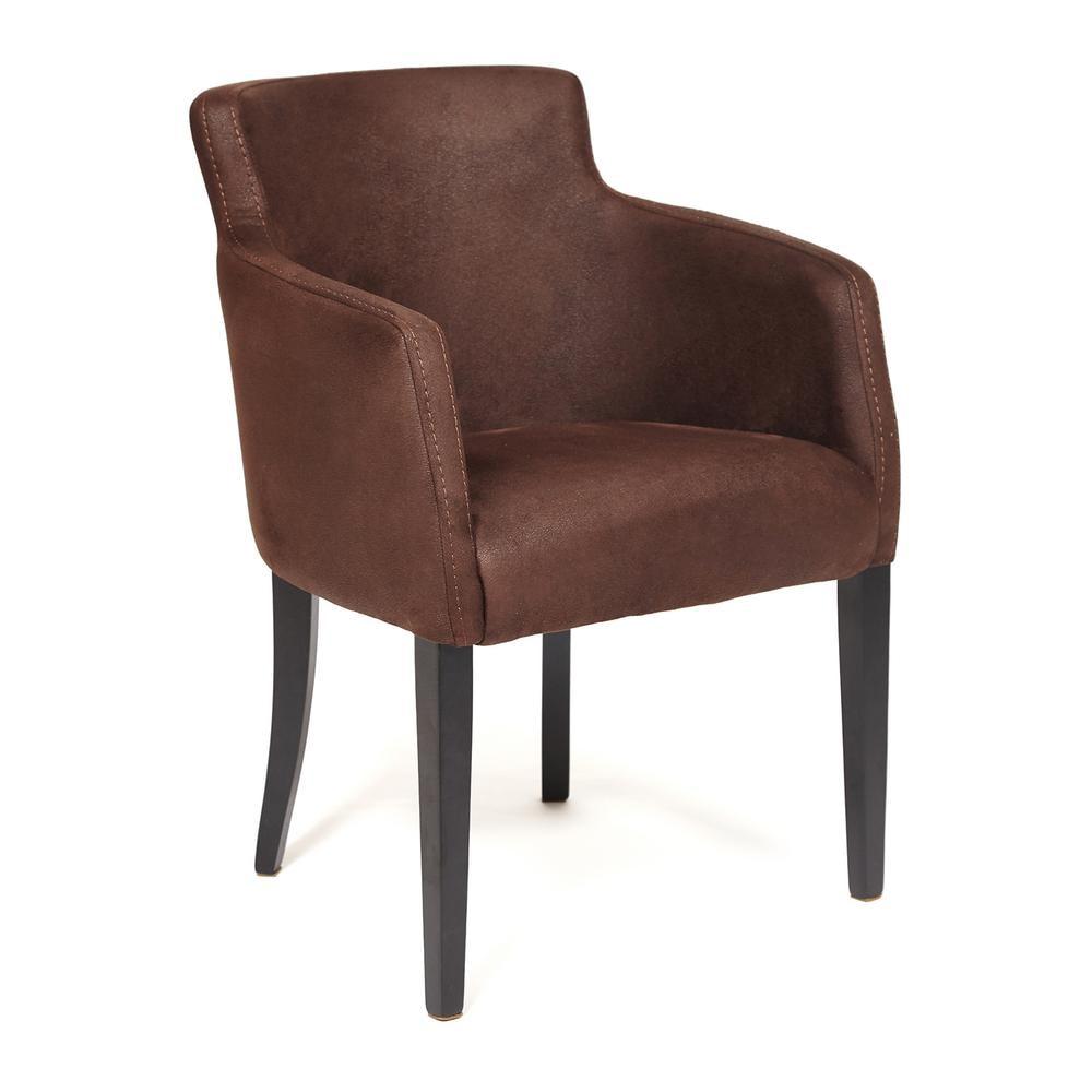 Кресло TC wenge нубук коричневый 65х56х77 см кресло tc натуральный бежевый 65х56х77 см