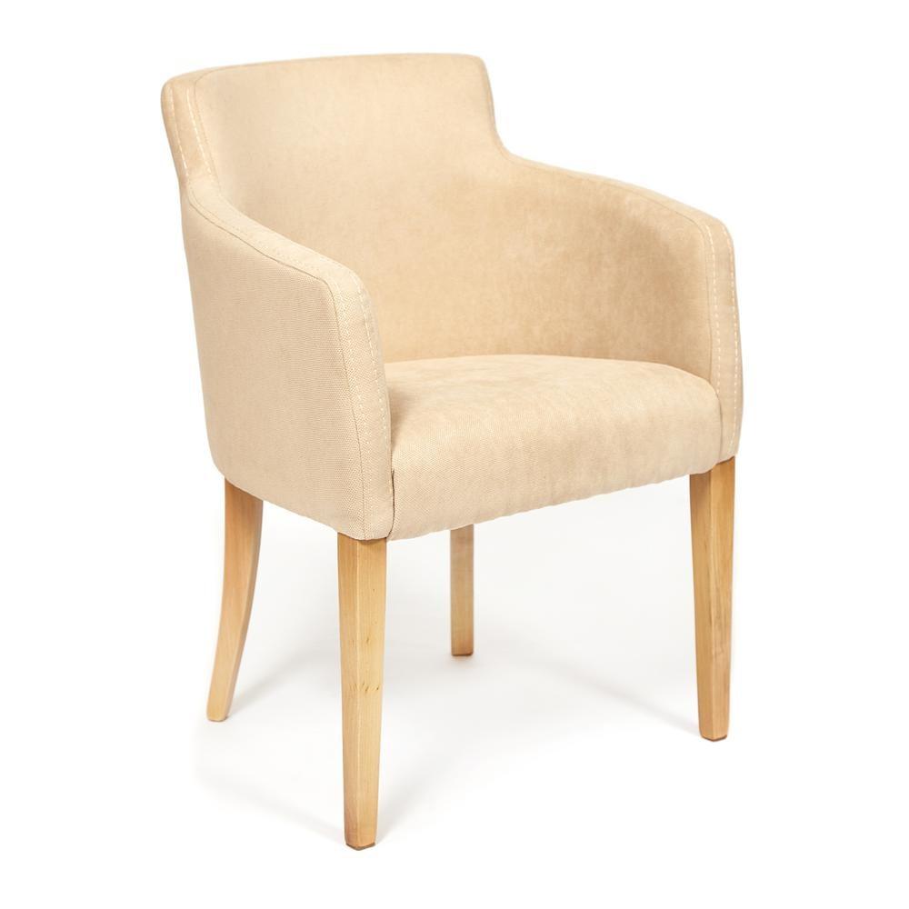 Кресло TC натуральный/бежевый 65х56х77 см кресло tc натуральный бежевый 65х56х77 см