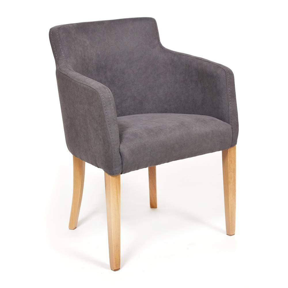 Кресло TC натуральный/серый 65х56х77 см кресло tc натуральный бежевый 65х56х77 см