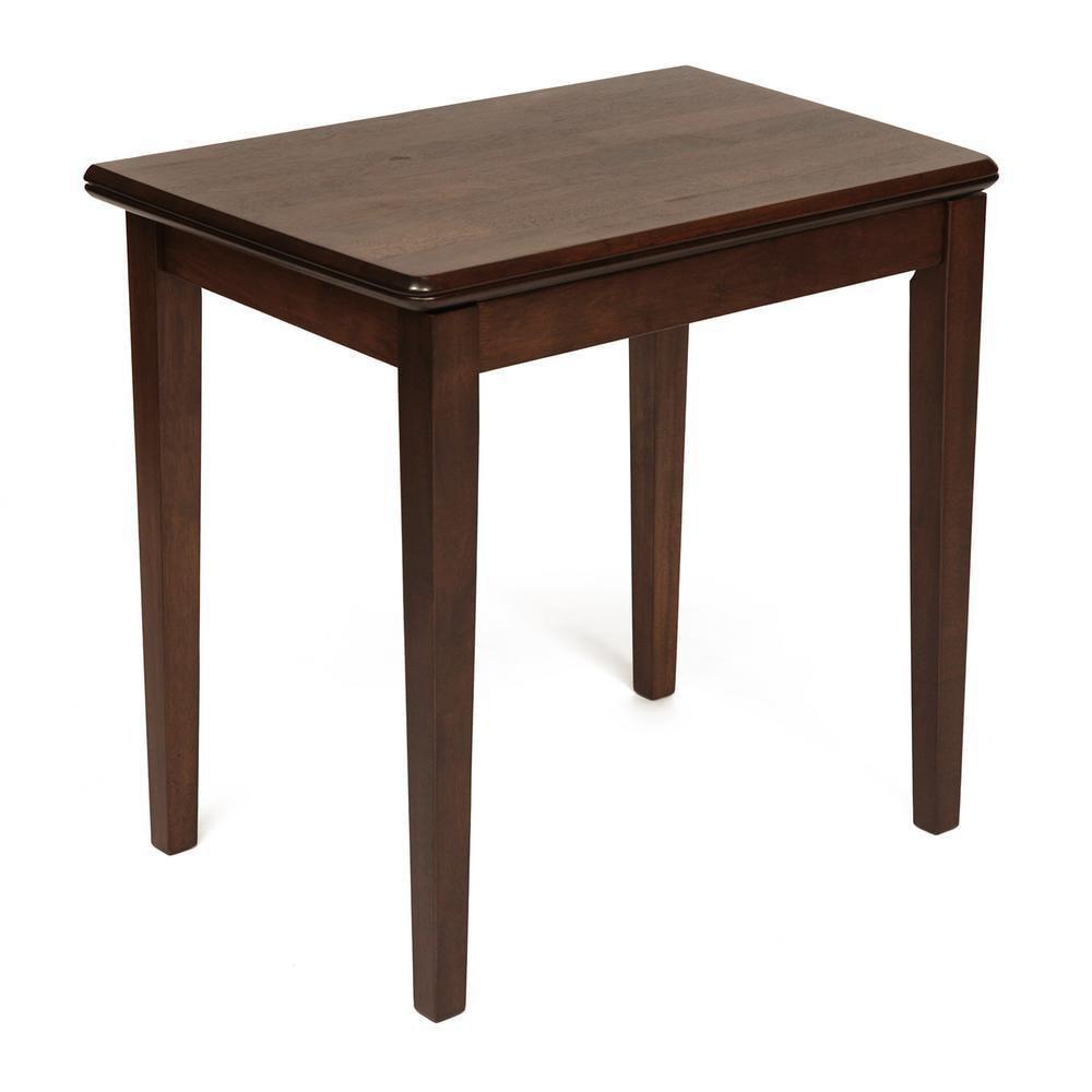 Стол раскладной TC walnut 52,5х80/80х105/х76 см фото
