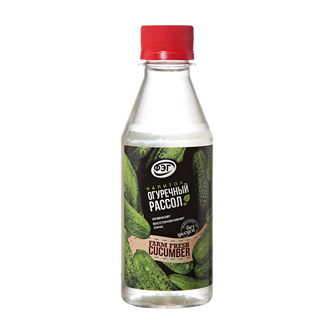 Напиток рассольный огуречный ФЭГ 240 г фото