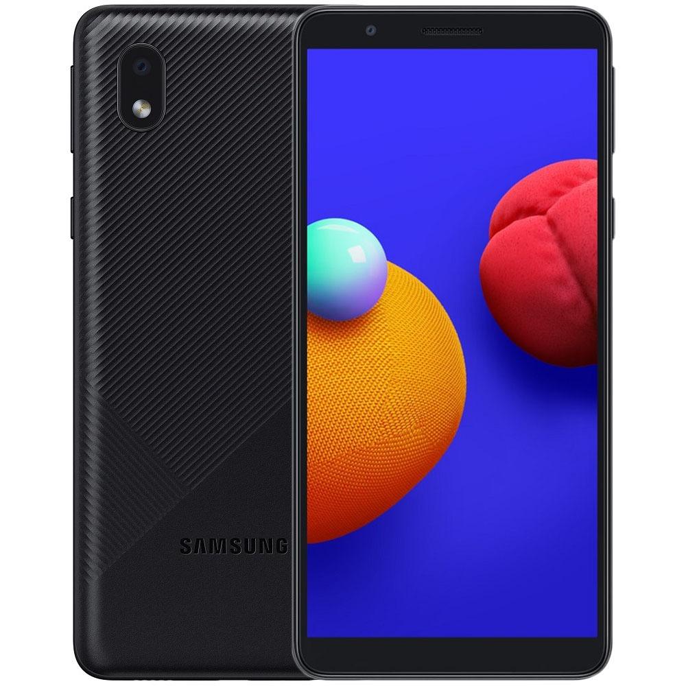 Смартфон Samsung Galaxy A01 16Гб Черный