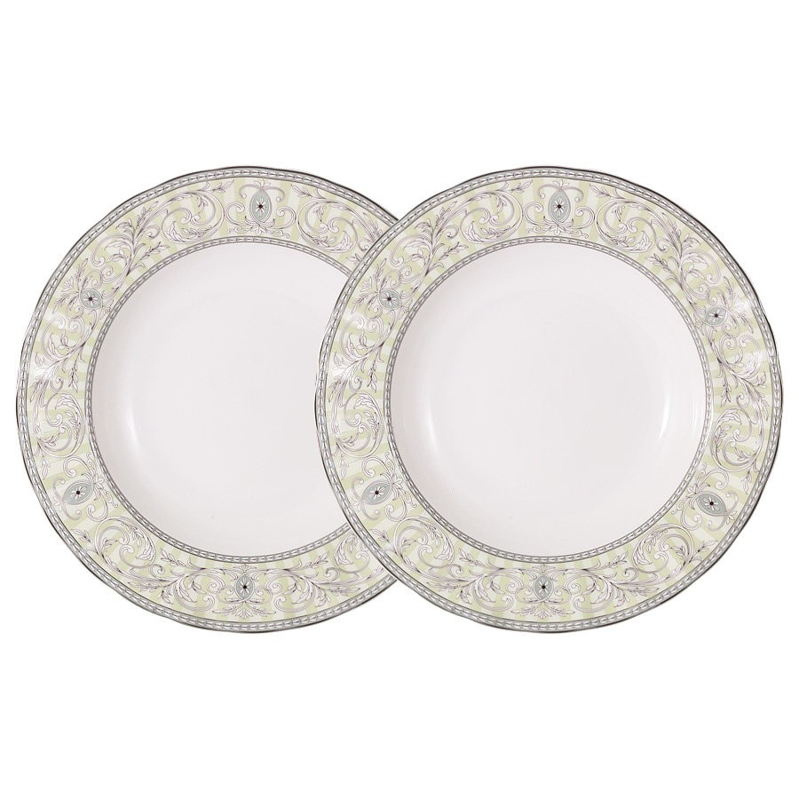 Набор суповых тарелок Colombo Жозефина 23,5 см 2 шт