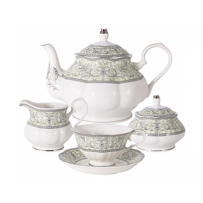 Фото - Сервиз чайный Colombo Жозефина на 6 персон банкетка жозефина 2 6 5113 кожзам есо