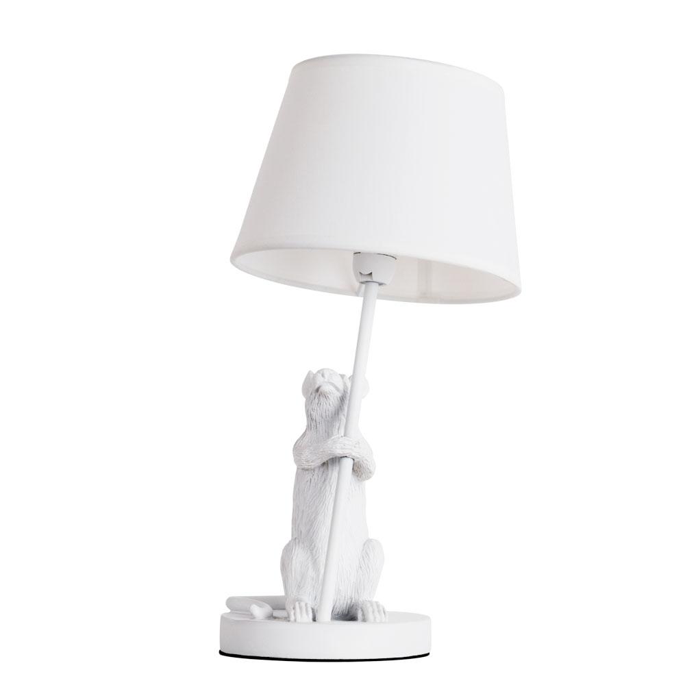 Лампа настольная Arte Lamp a4420lt-1wh настольная лампа arte lamp pinocchio a5700lt 1wh 60 вт