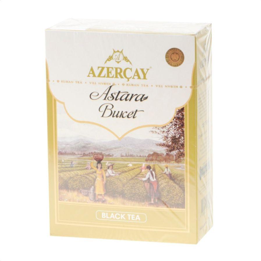 Фото - Чай черный Азерчай Astara Buket 200 г чай черный азерчай специальный с белым узором 200 г