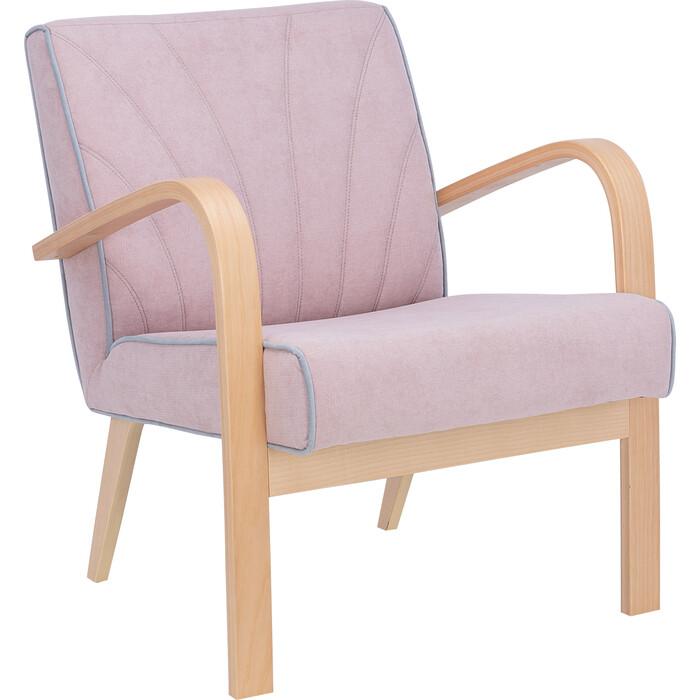 Кресло для отдыха M.I. Андреа натуральное дерево/soro61/fancy85 фото
