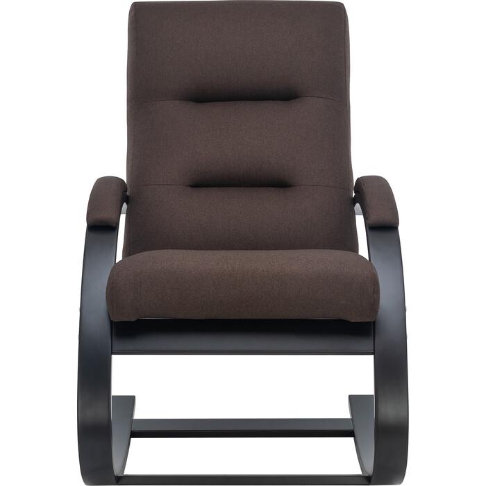 Кресло LS Бекка венге ткань малмо 28