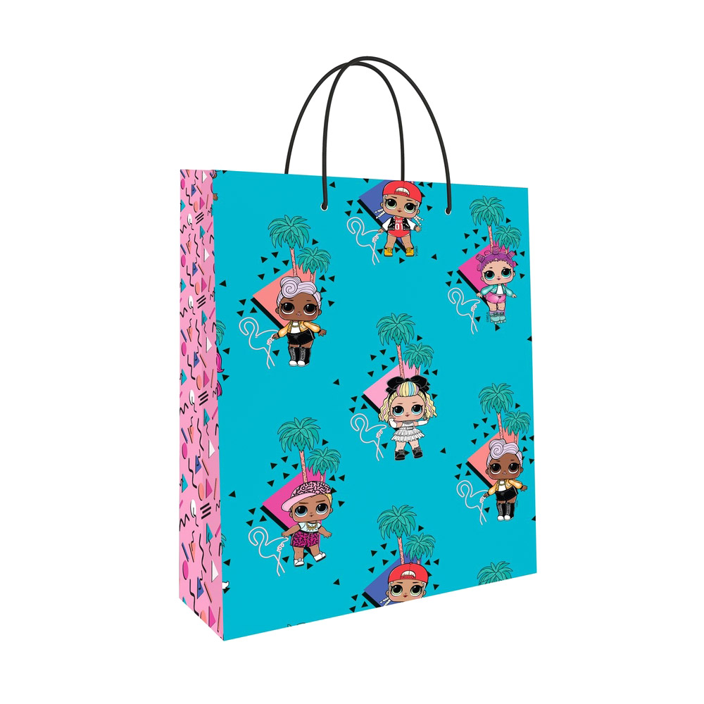 Фото - Пакет подарочный ND Play LOL 33,5х40,6х15,5 см пакет подарочный nd play lol 25 х 35 х 10 см мятный розовый