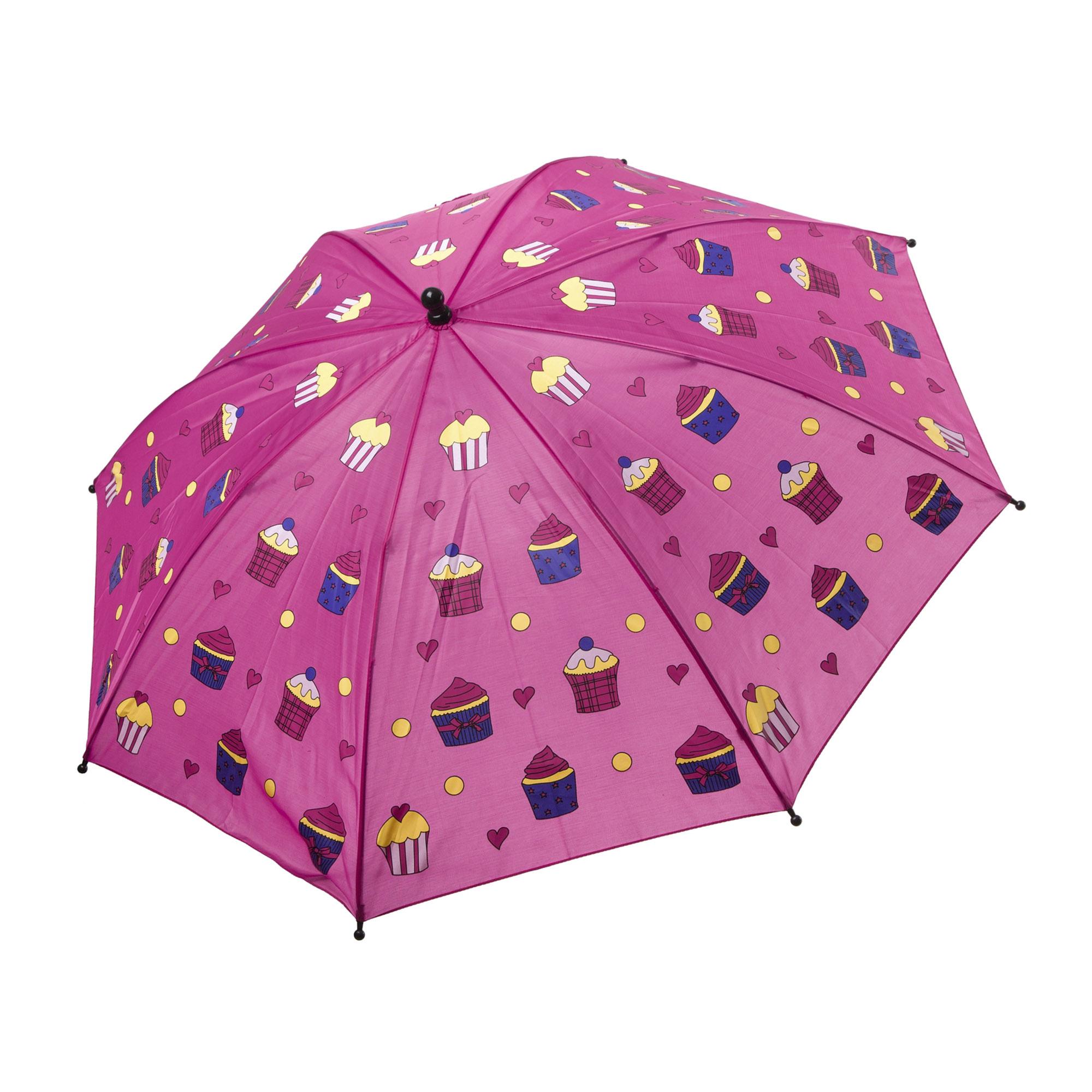 Зонт детский механический BONDIBON Кексики 19 см