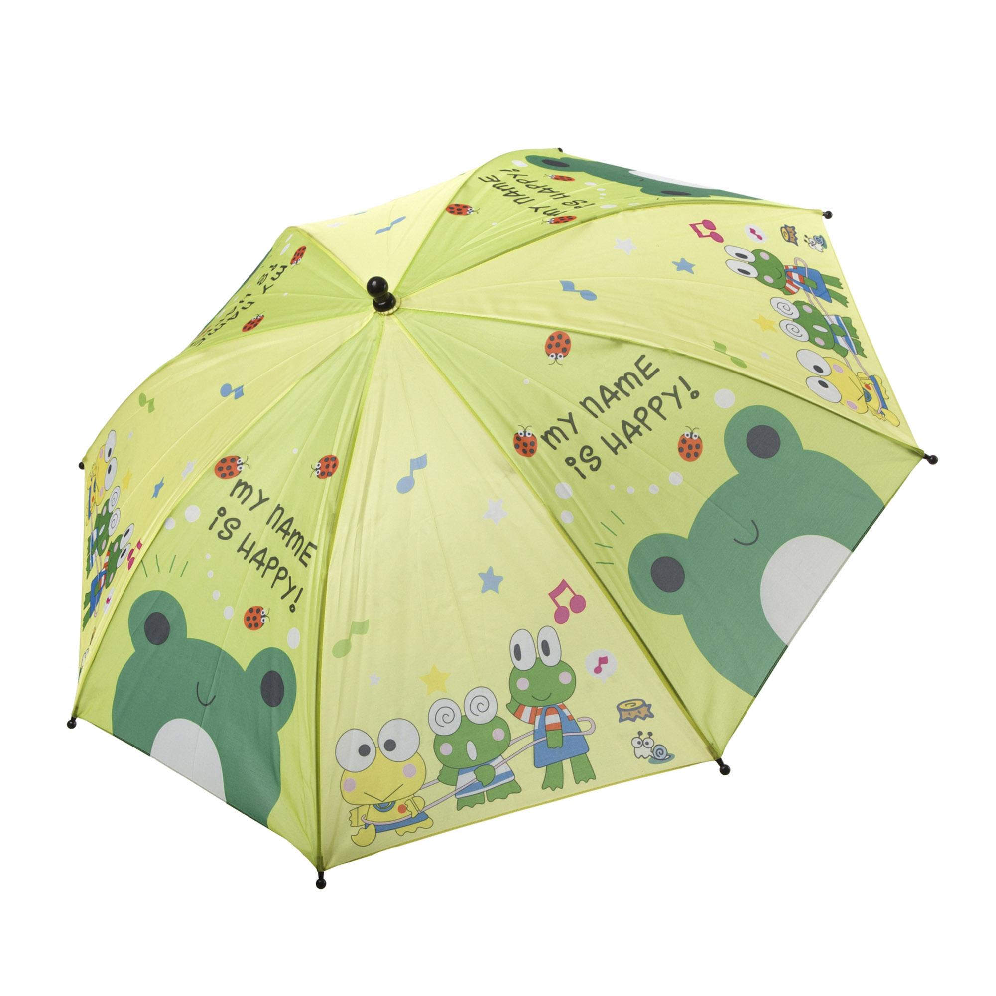 Зонт детский механический BONDIBON Лягушки 19 см