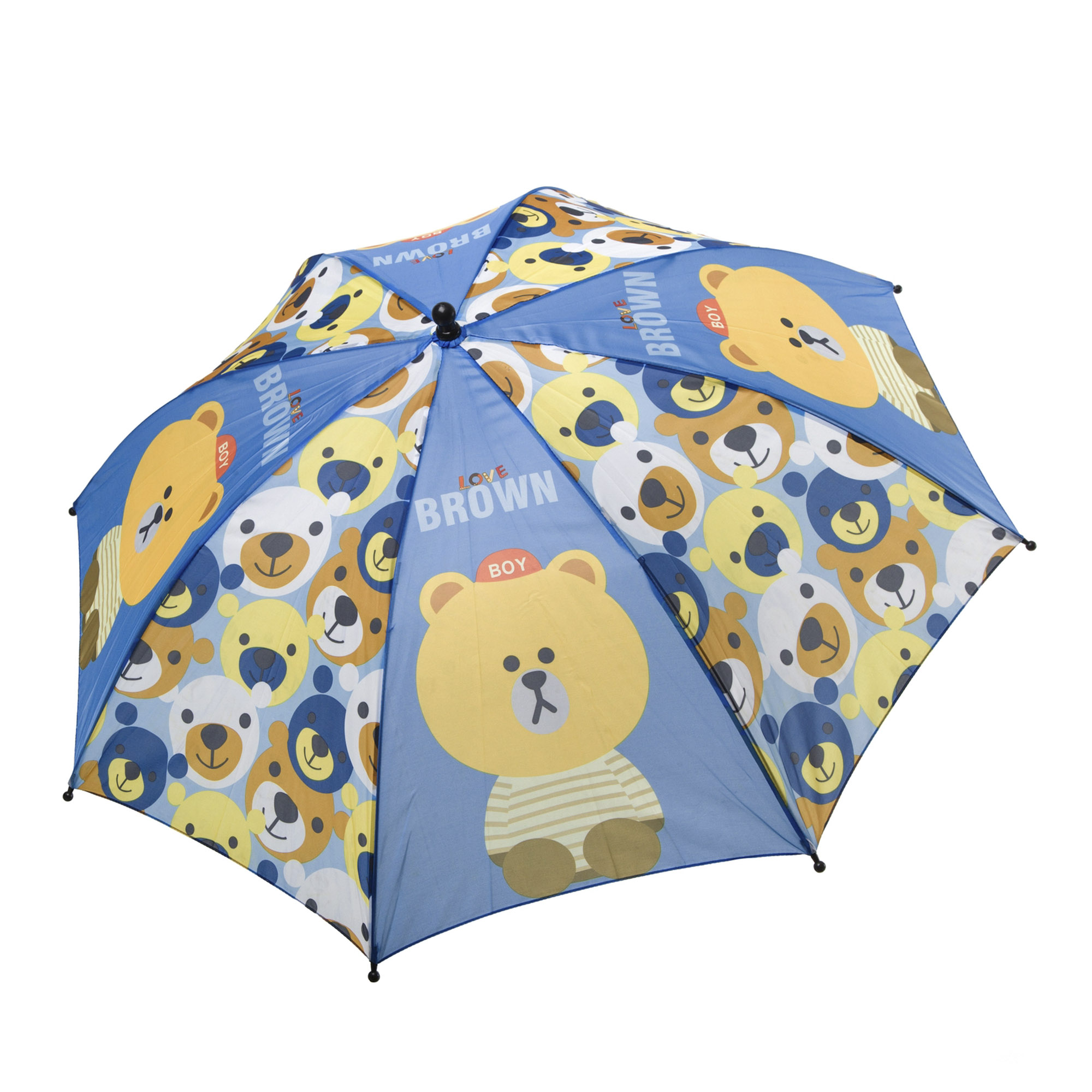 Зонт детский механический BONDIBON Мишки 19 см