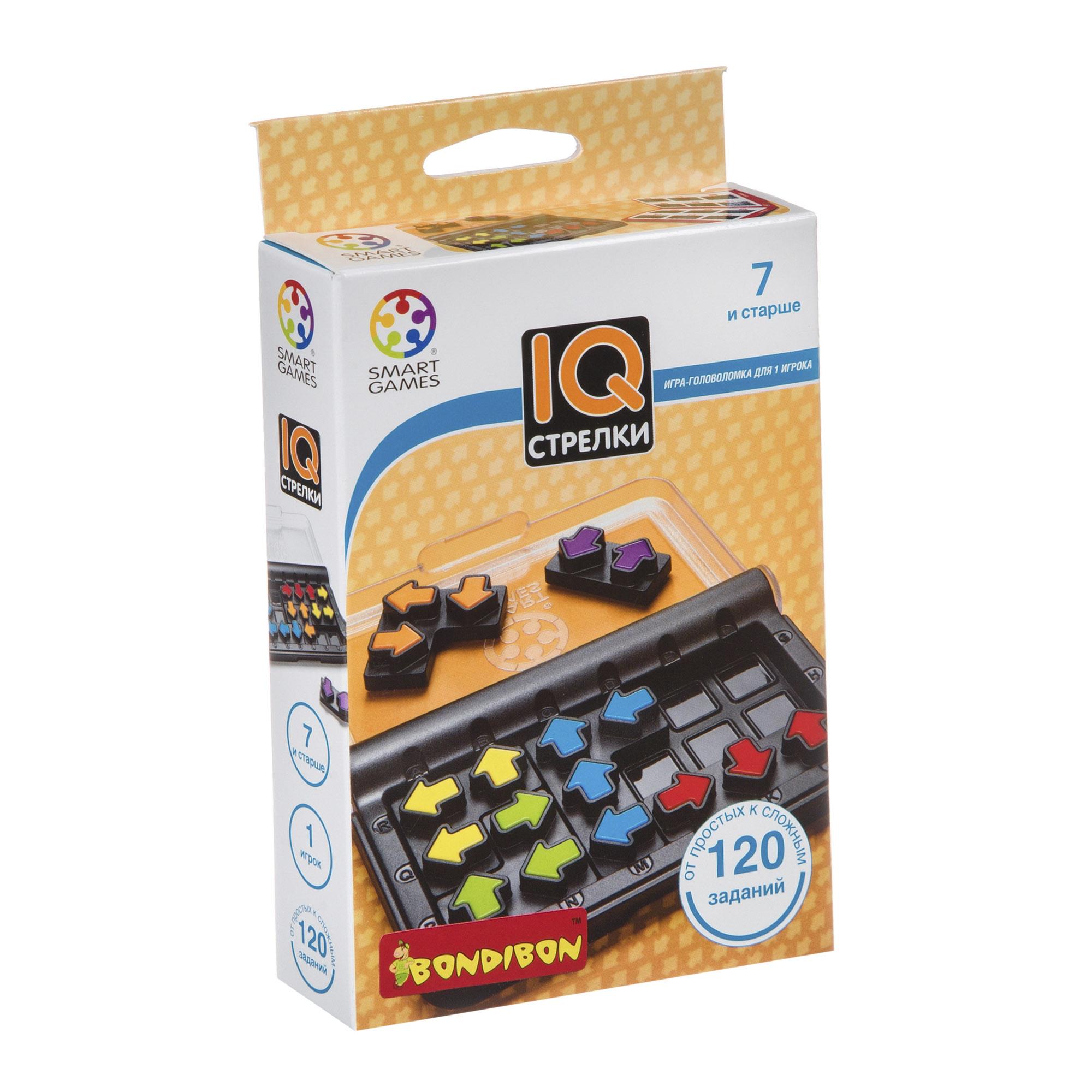 Логическая игра Bondibon Smartgames IQ-Стрелки недорого