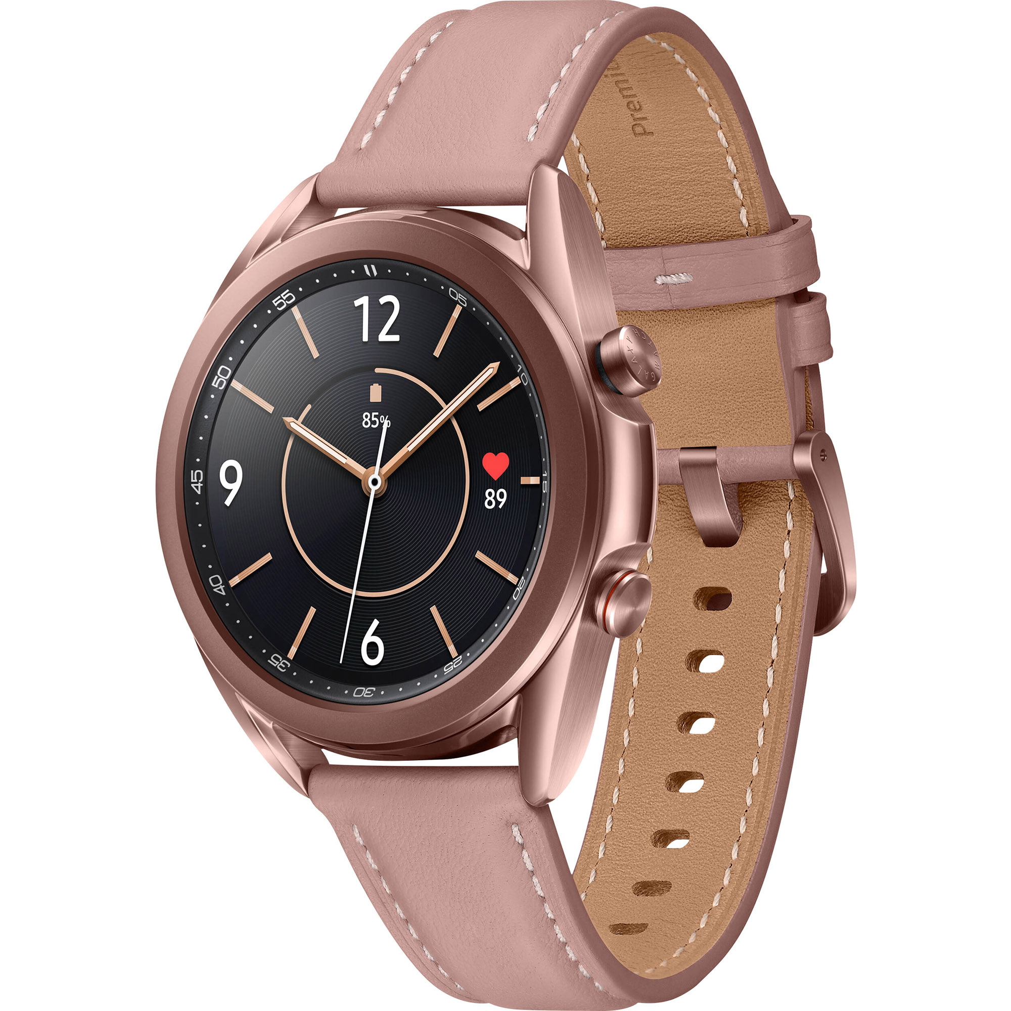 Фото - Смарт-часы Samsung Galaxy Watch3 41 мм (SM-R850NZDACIS) Бронза смарт часы samsung galaxy watch 1 3 super amoled серебристый sm r800nzsaser