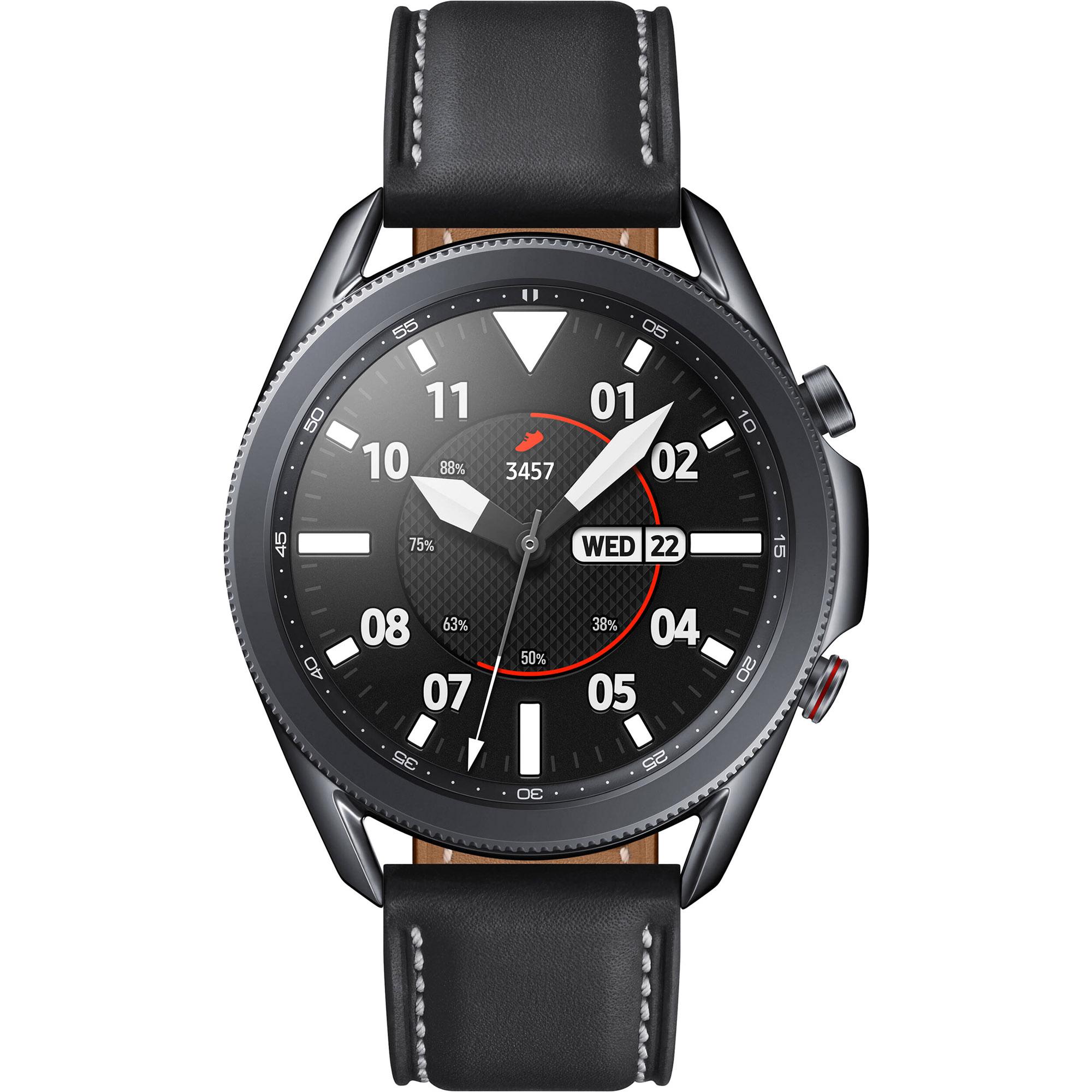 Смарт-часы Samsung Galaxy Watch3 45 мм (SM-R840NZKACIS) Черный