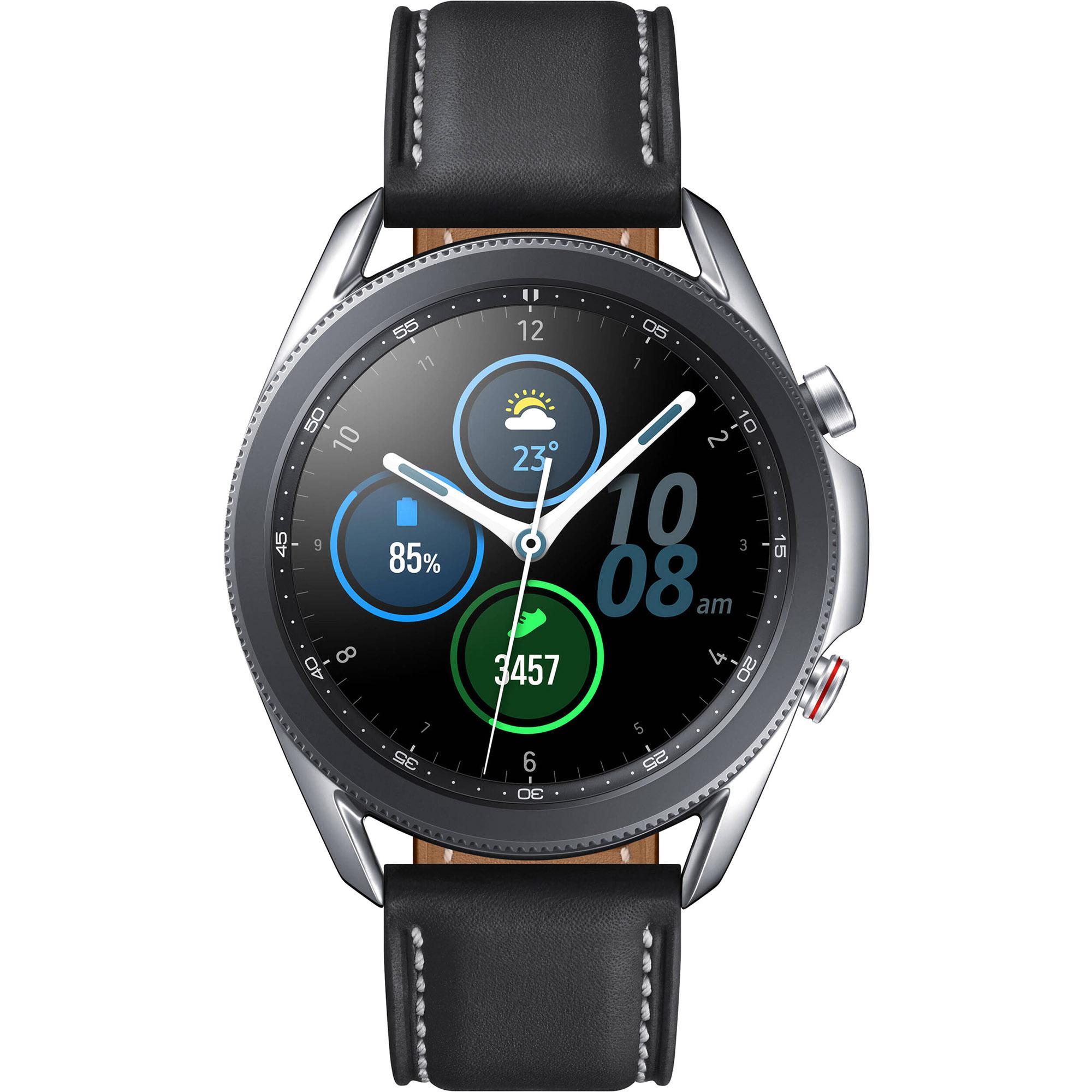 Фото - Смарт-часы Samsung Galaxy Watch3 45 мм (SM-R840NZSACIS) Серебро printio чехол для samsung galaxy s7 edge объёмная печать портрет королевы эльфов в ярких красках