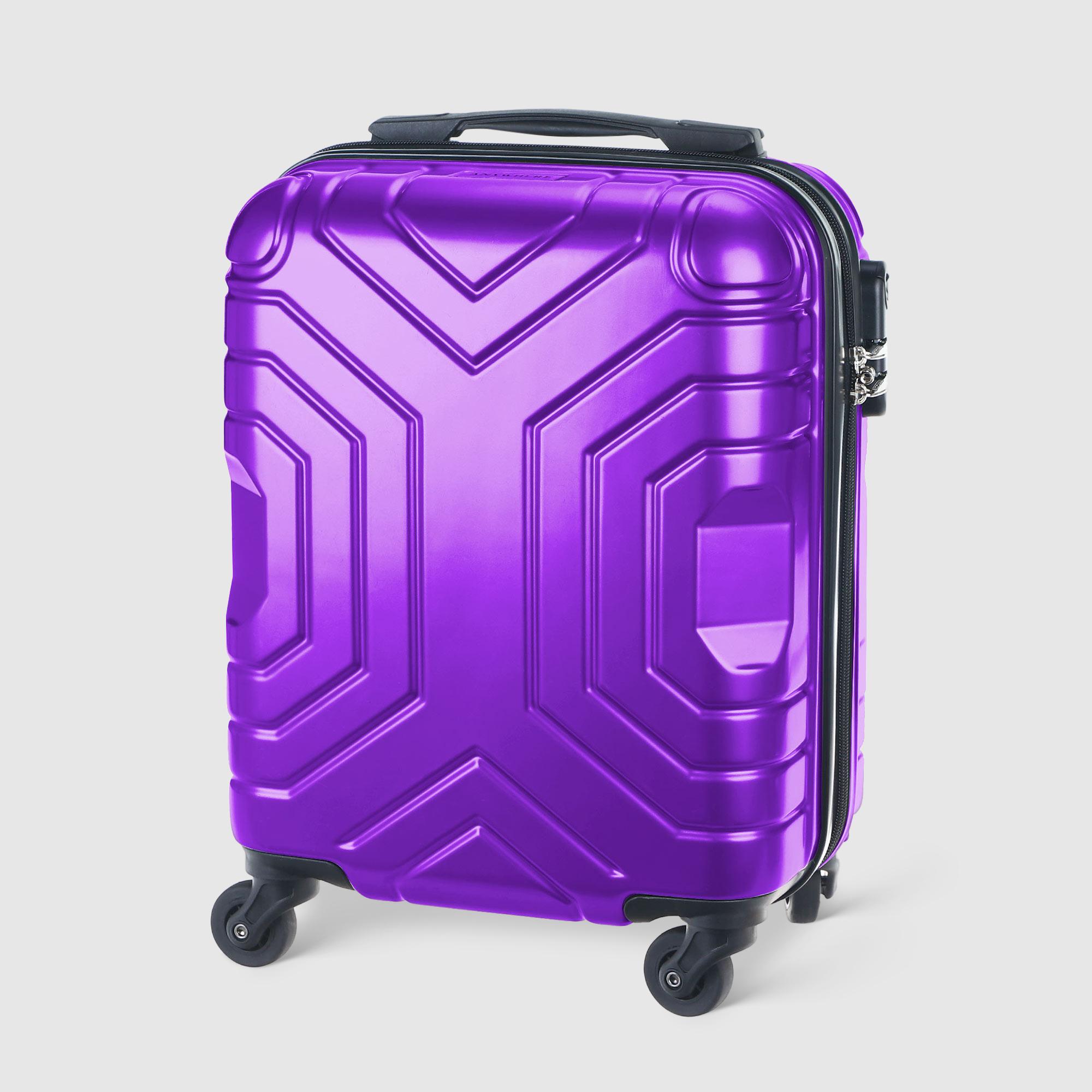 Чемодан Vlan фиолетовый 41 см