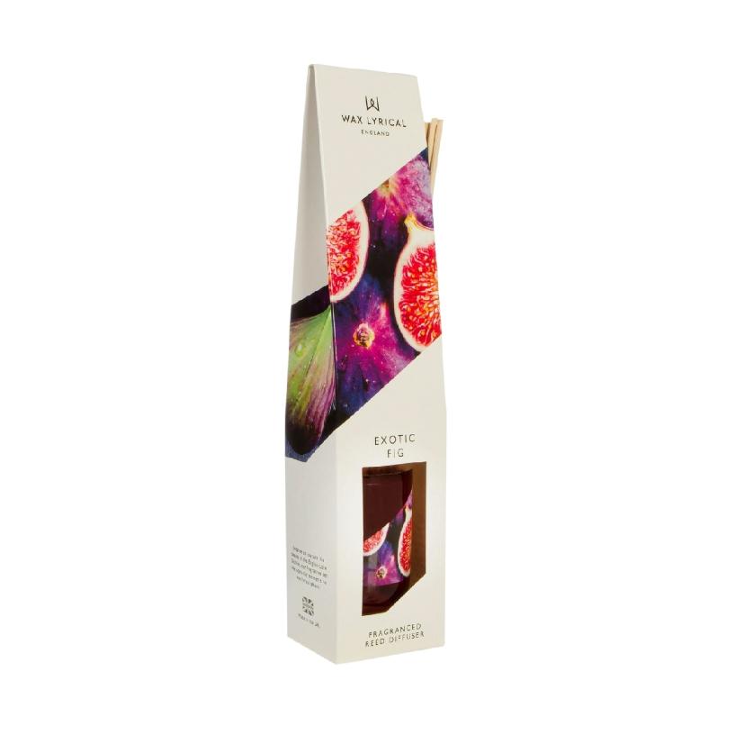 ароматический диффузор wax lyrical белый чай и гранат 100 мл Диффузор ароматический Wax Lyrical WLE3510 Экзотический инжир 100 мл