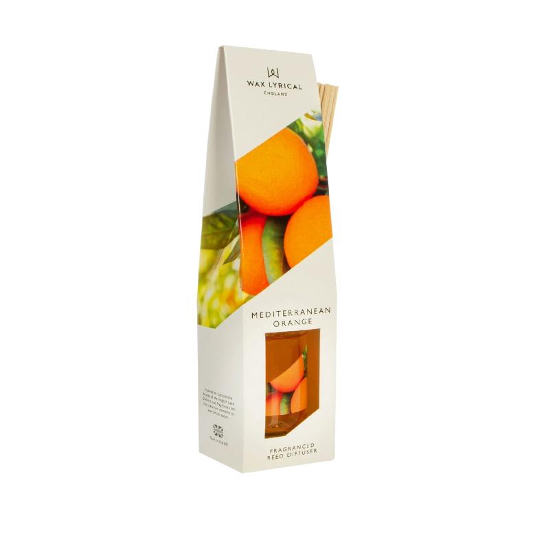 ароматический диффузор wax lyrical белый чай и гранат 100 мл Диффузор ароматический Wax Lyrical WLE3505 Солнечный апельсин 100 мл