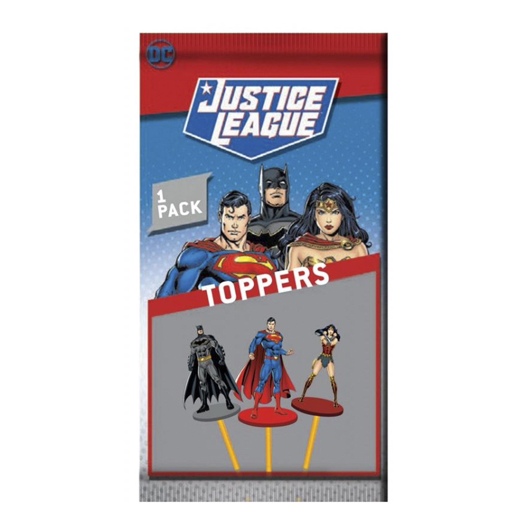 Игрушка-топпер на карандаш Лига Справедливости 12 видов недорого