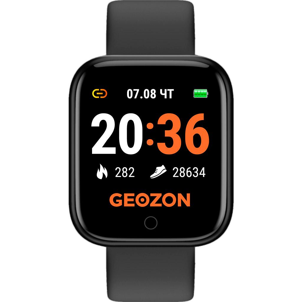 Фото - Смарт-часы Geozon SPRINTER Black (G-SM11BLK) наушники geozon wave g s08wht white