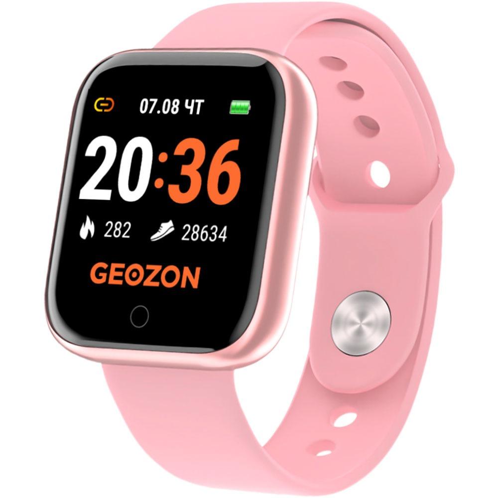 Фото - Смарт-часы Geozon SPRINTER Pink (G-SM11PNK) наушники geozon wave g s08wht white
