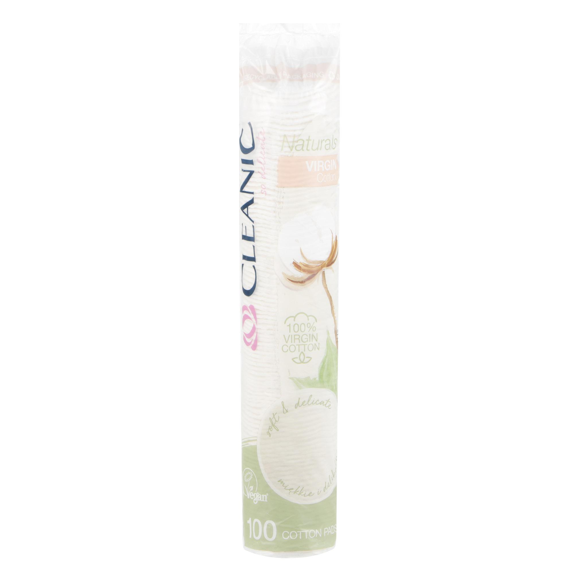 Ватные диски Cleanic Naturals Virgin Cotton 100 шт