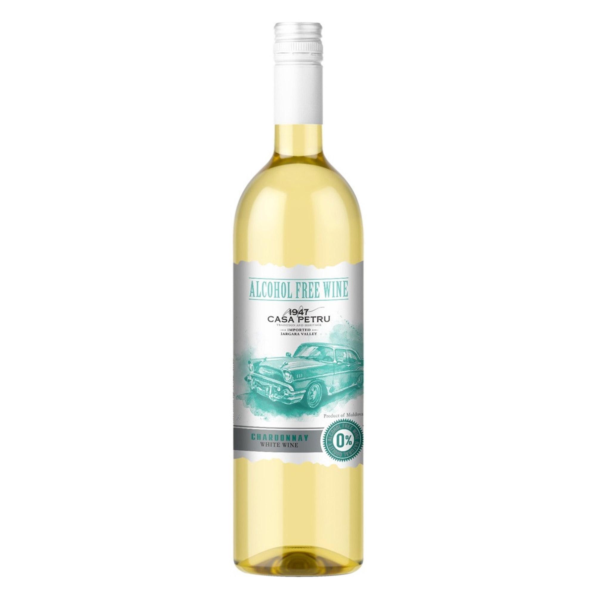 carl jung рислинг вино белое безалкогольное 750 мл Вино безалкогольное белое сладкое Casa Petru Chardonnay 0,75 л