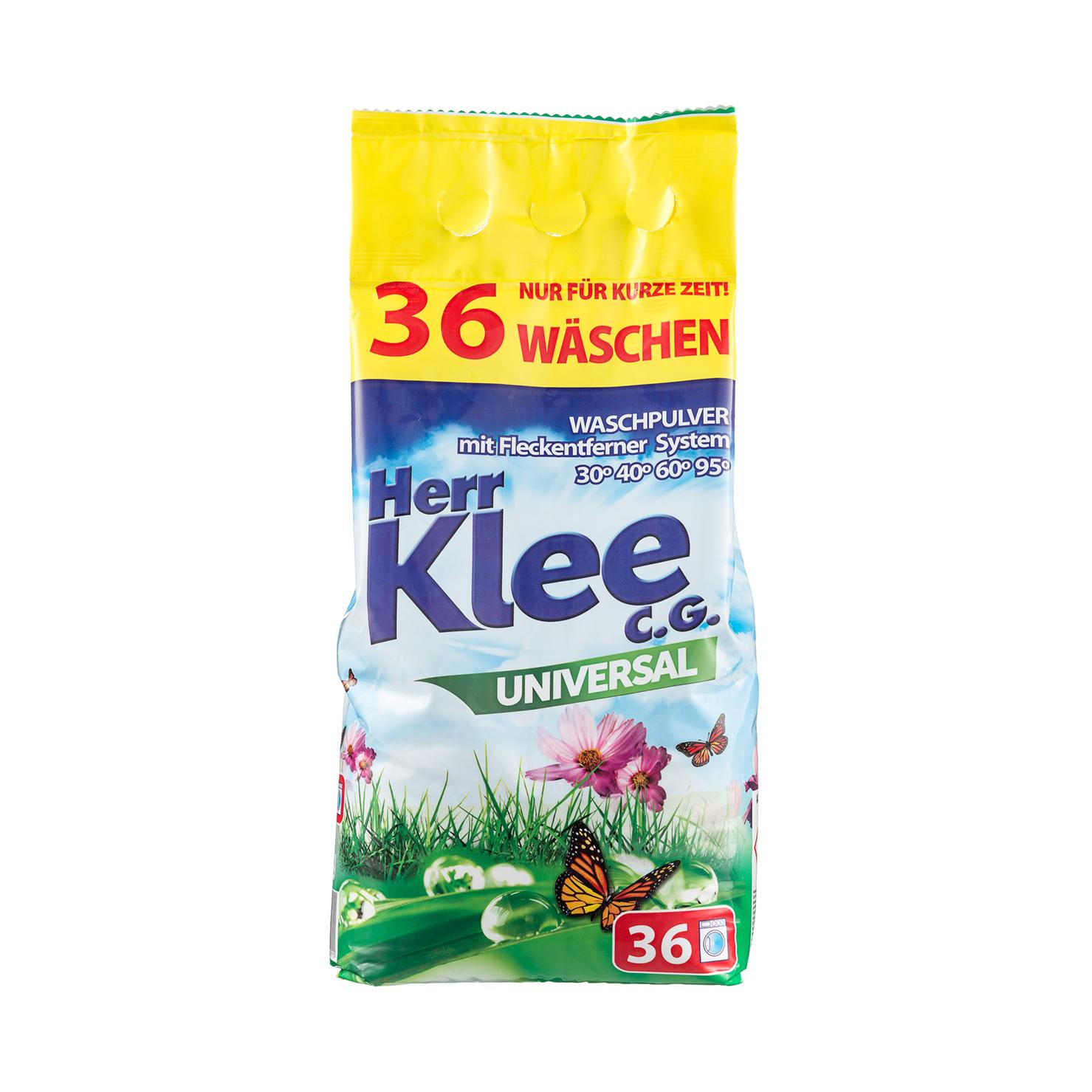 michael herr dispatches Стиральный порошок Herr Klee Universal универсальный 3 кг
