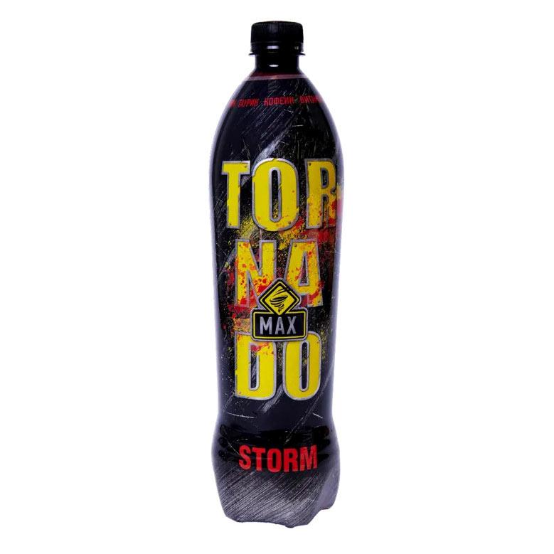 Напиток энергетический Tornado Energy Max Storm 1 л напиток энергетический tornado energy active 450 мл