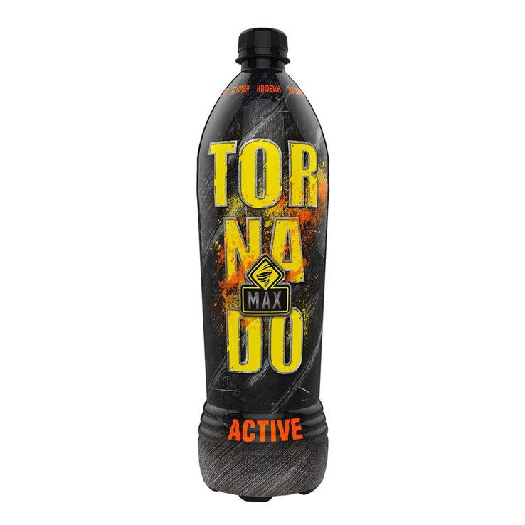 Напиток энергетический Tornado Energy Max Active 1 л напиток энергетический tornado energy active 450 мл