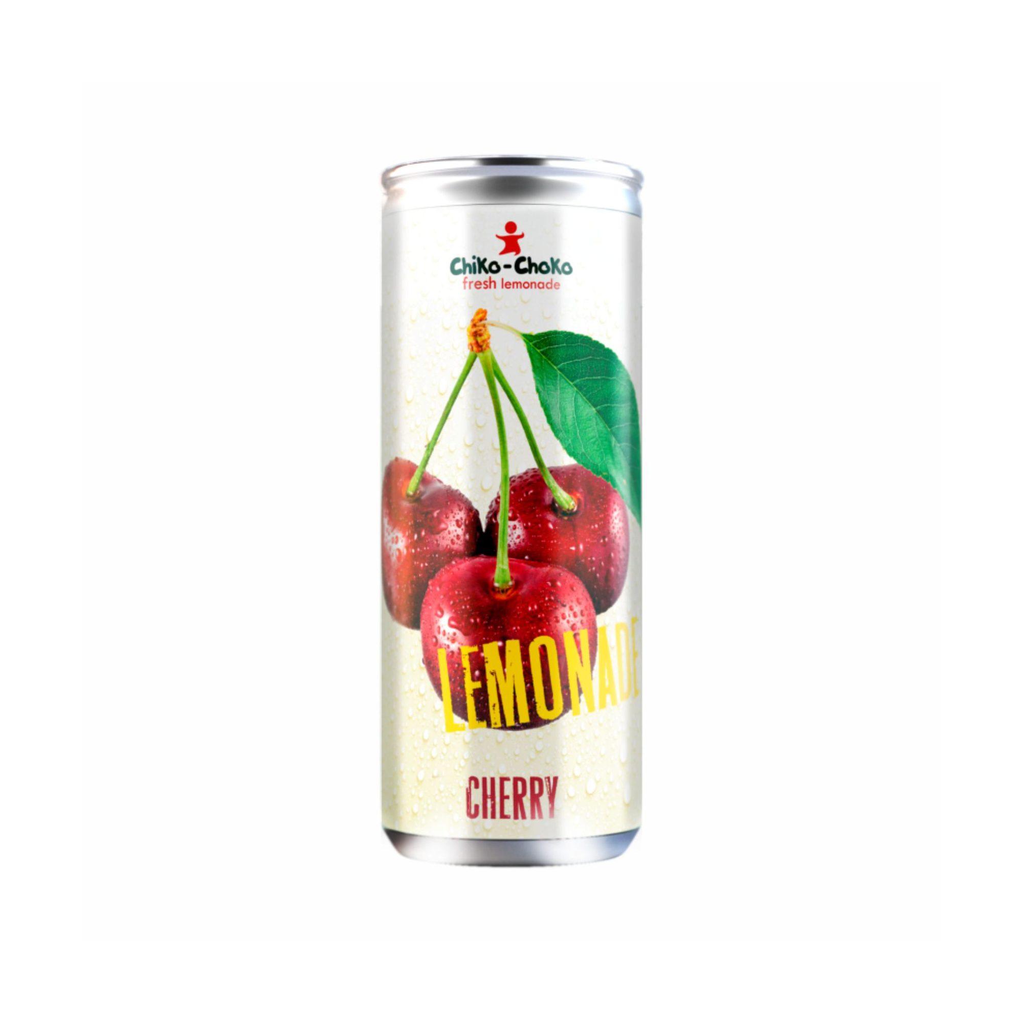 Напиток газированный Chiko-Choko вишневый 355 мл