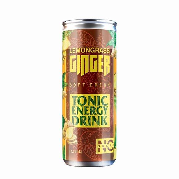 Напиток энергетический Chiko-Choko лимонграсс-имбирь 355 мл