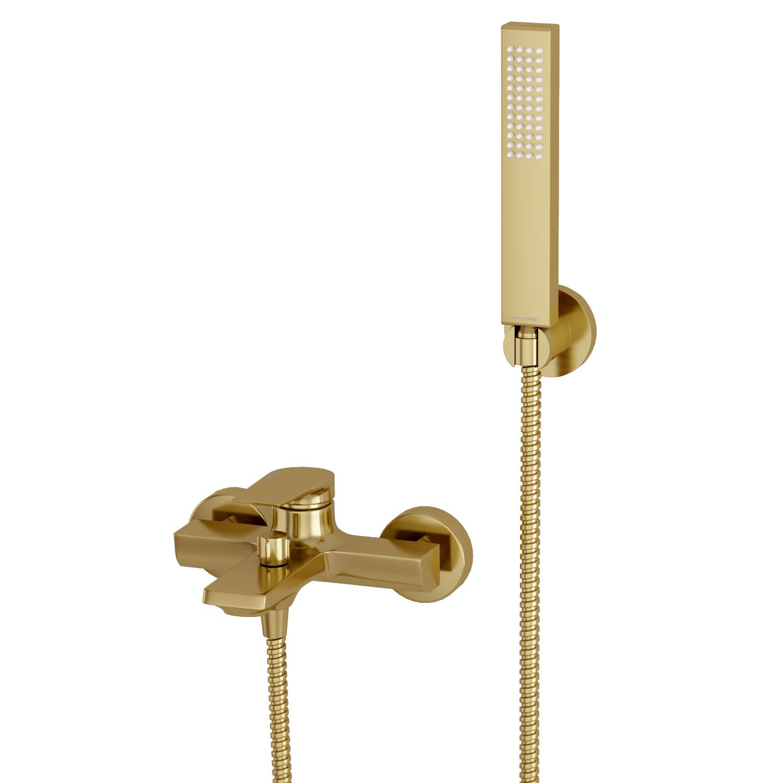 Смеситель для ванны с коротким изливом Wasserkraft A смеситель для ванны culto drop однорычажный с коротким изливом цвет хром