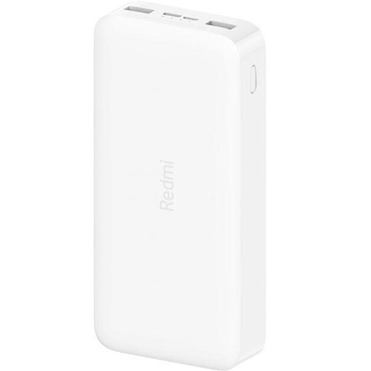 Внешний аккумулятор Xiaomi Redmi Power Bank Fast Charge 20000 мАч белый VXN4265CN