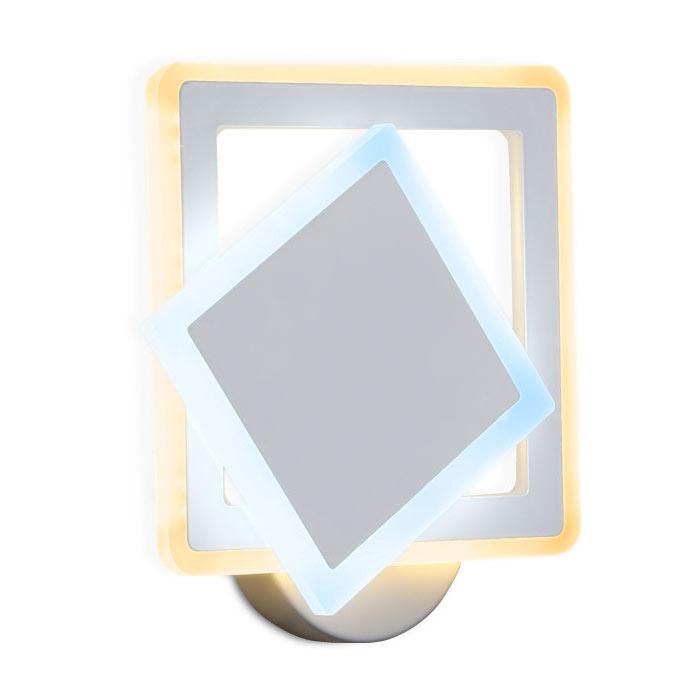 Фото - Светильник настенный Ambrella light с выключателем fa565 24w настенный светильник ambrella light fa565 wh s белый песок 13 вт
